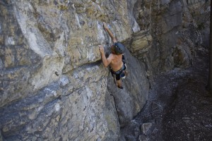 Sam Wall on Guidekiller 5.11d